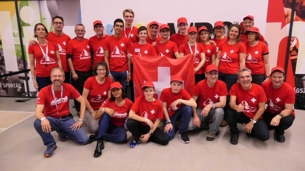 Swiss delegation at World Finals in Hungary